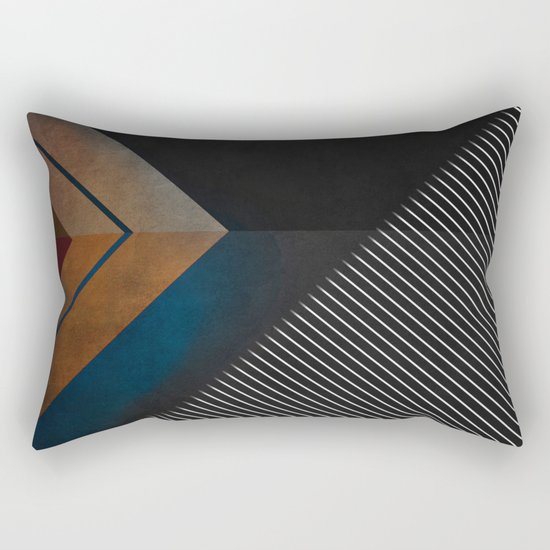 GeoY11 Rectangular Pillow