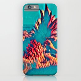Pineapple Beach iPhone Case