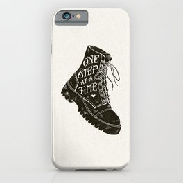 One Step at a Time iPhone Case