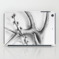 antler iPad Cases featuring Antler Flowers by Robyn Marshall