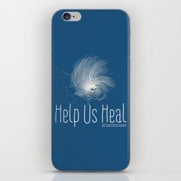 Help Us Heal - Hurricane Sandy Relief iPhone Skin