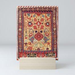 Sauj Bulag Azerbaijan Northwest Persian Rug Print Mini Art Print