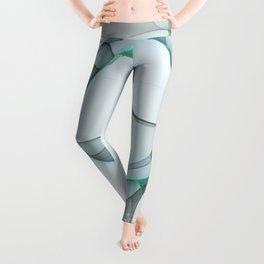 Minimalist Abstract, Fractals Art Leggings