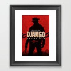 Django Unchained  Framed Art Print