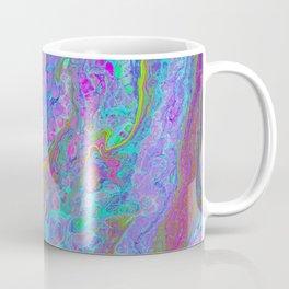 Pink Turquoise Pour Coffee Mug