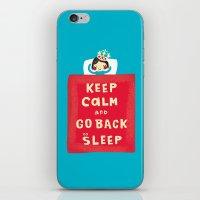 keep calm iPhone & iPod Skins featuring keep calm by Jill Howarth