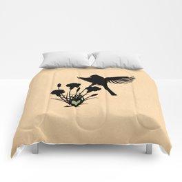 Ohio - State Papercut Print Comforters