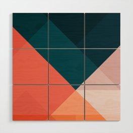 Geometric 1708 Wood Wall Art