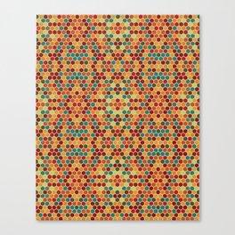 Geometric Seamles Pattern Canvas Print