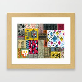 ASSEMBLY UNKNOWN Framed Art Print