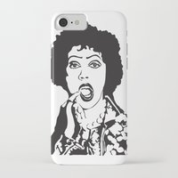rocky horror picture show iPhone & iPod Cases featuring Rocky Horror by Colesart
