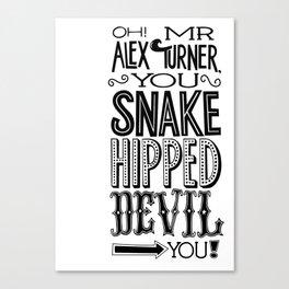 Alex Turner Canvas Print