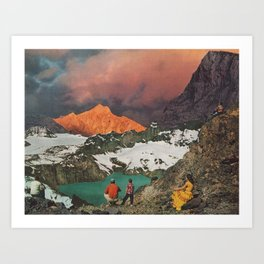 EMBER Art Print
