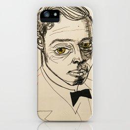 1920s fella iPhone Case