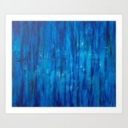Edge of the Earth Art Print