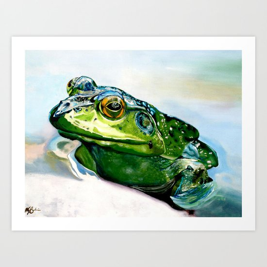 Ribbit Art Print