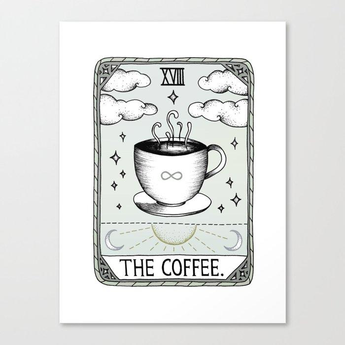The Coffee Leinwanddruck