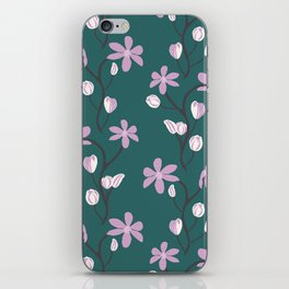 Floral Melody iPhone Skin