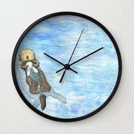 Embrace 3 Wall Clock