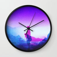 tolkien Wall Clocks featuring Wonder Never Cease by Stoian Hitrov - Sto