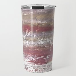 Marble abstract Travel Mug