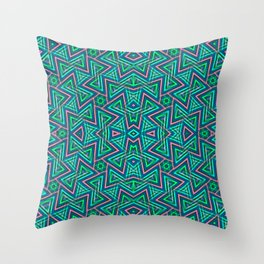 Sweet Triangles Pattern Throw Pillow
