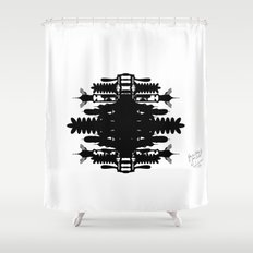 A Template for Your Imagination Shower Curtain