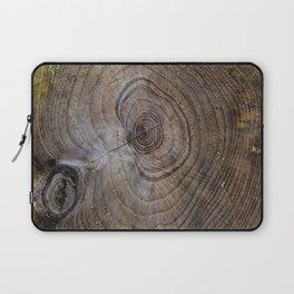 Tree Rings rustic decor Laptop Sleeve