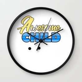 Relatives Family Kinship Ancestry Household Love Bloodline Ancestry Awesome Child Gift Wall Clock