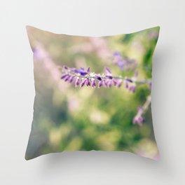 Salvia Throw Pillow
