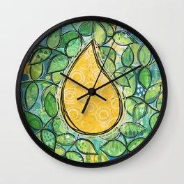 Drop Of Sunshine Wall Clock
