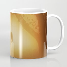 Elk in Early Morning Mist Coffee Mug