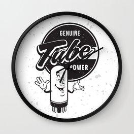 Genuine Tube Power Wall Clock