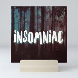 Insomniac Forest Mini Art Print