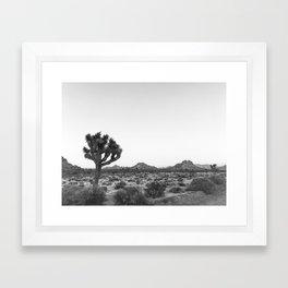JOSHUA TREE / California Desert Framed Art Print