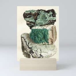 Vintage Mineralogy Illustration Mini Art Print