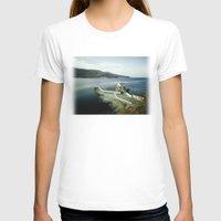 greek T-shirts featuring Greek landscape by MarioGuti