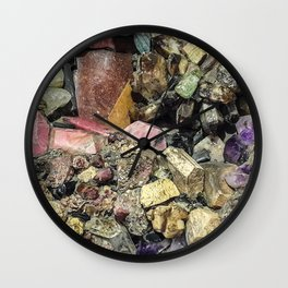 Gems collection 3 Wall Clock
