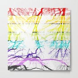 Rain Boughs Metal Print