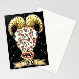 ¨Hunky¨ Stationery Cards