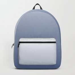 Grey Blue Ombre Backpack