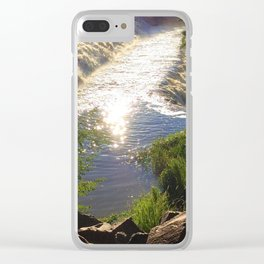 Shimmering Sun Rays on Colorado Springs Clear iPhone Case