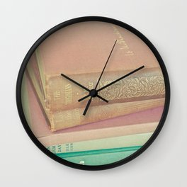 Book Lover Wall Clock