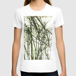 bamboo leaves T-shirt