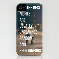 The Best Nights iPhone (4, 4s) Slim Case