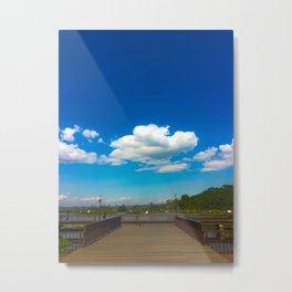 Blue sky Metal Print