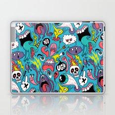 Doodled Pattern Laptop & iPad Skin