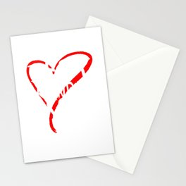 Best Grandma Ever Love Heart Mother's Day T-Shirt Stationery Cards