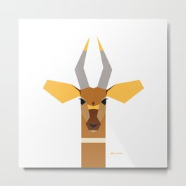 Bongo Metal Print