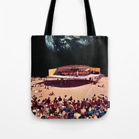 concert Tote Bags featuring Concert by Martin Carri